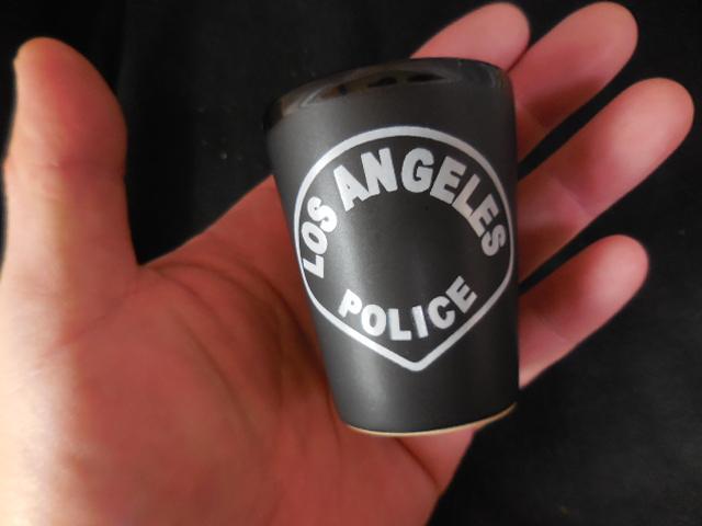 ロサンゼルス市警察ショットグラス - USPD GEAR