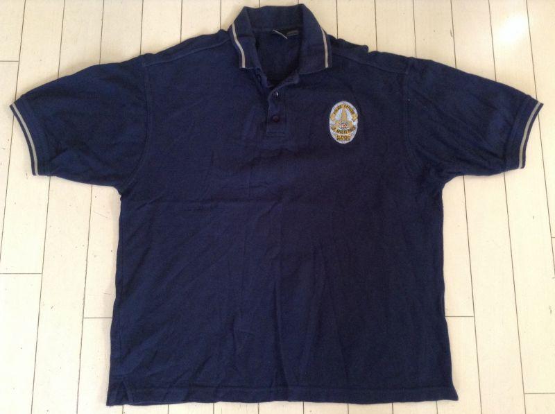ロサンゼルス市警察ポロシャツ オフィサーランク中古 - USPD GEAR