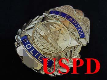 画像1: 連邦アメリカ合衆国国会議事堂警察支給バッジ    連邦アメリカ合衆国国会議事堂警察支給