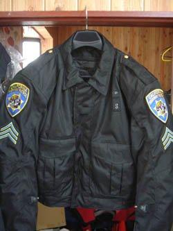 画像1: カリフォルニアハイウェイパトロール白バイ専用ジャケット最新タイプ