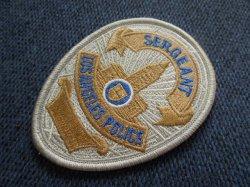 画像1: ロサンゼルス市警察 実物バッジパッチ サージャント