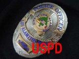 ロスアラミトス市警察実物バッジ オフィサー