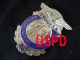 ノースカロライナ州ハイウェイパトロール実物支給バッジ トルーパー