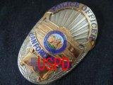 ハンフォード市警察実物旧支給バッジ オフィサー