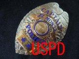 エルモンテ市警察実物旧支給バッジ キャプテン