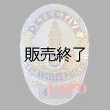 ロサンゼルス市警察実物支給バッジ ディテクティブ