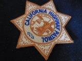 カリフォルニアハイウェイパトロール実物NEWタイプバッジパッチ