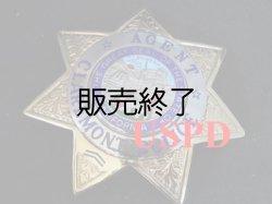 画像1: クレアモント市警察実物支給バッジ エージェント