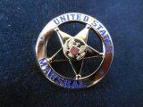 USマーシャル(連邦保安官)ピン ハイランク ゴールド