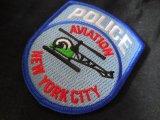 ニューヨーク市警察エアーサポート実物ショルダーパッチ