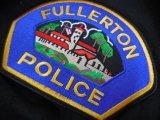 フラートン市警察実物ショルダーパッチ