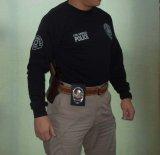 ロサンゼルス市警察実物オフィシャルレイドシャツ(長袖)日本人L