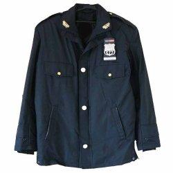 画像1: ニューヨーク市警察冬用ロングジャケット 各サイズ