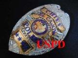 エルケイジョン市警察 実物旧支給バッジ チーフ