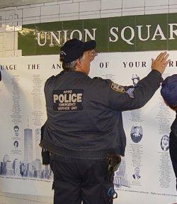 画像4: ニューヨーク市警察実物エマージェンシーサービスユニットベスト用 パッチ ベルクロ