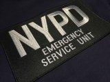 ニューヨーク市警察実物エマージェンシーサービスユニット用パッチ