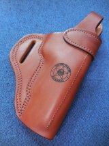 USマーシャル(連邦保安官)マーク入り実物ホルスター Colt 1911系用 茶