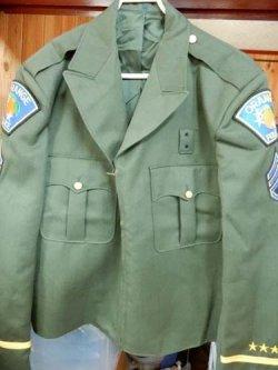 画像1: カリフォルニア州オレンジ市警察ドレスジャケット 日本人XL