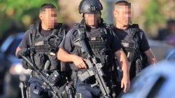 画像2: ロサンゼルス市警察SWATユニフォーム半袖Tシャツ日本人M