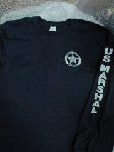 連邦保安官 長袖 レイドシャツ US Mサイズ(日本人Lサイズ)