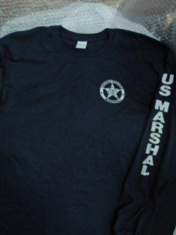 画像1: 連邦保安官 長袖 レイドシャツ US Mサイズ(日本人Lサイズ)