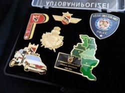 画像2: スイス警察ピンズSET