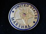 連邦保安官事務所 チャレンジコイン ゴールド