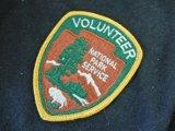 ナショナルパークサービスボランティア ショルダーパッチ