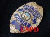 ベーカースフィールド市警察 実物支給バッジ オフィサー