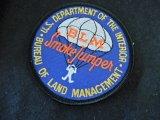 米国内務省ランドマネージメント スモークジャンパーパッチ