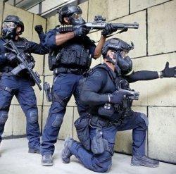 画像1: ロサンゼルス市警察SWAT新型ユニフォームパンツ(レプリカ)各サイズ