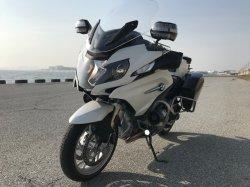 画像1: BMW R1200RT LC用白バイLEDライトSET