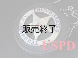 画像1: USマーシャル(連邦保安官)セカンドバッジ &ホルダー SET ディプティー