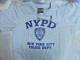 ニューヨーク市警察 半袖TシャツUS L 日本人XL グレー