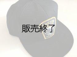 画像1: ボストン市警察CAP サイズフリー ブラック