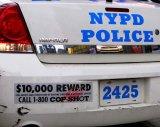 ニューヨーク市警察ポリスカー用バンパーステッカー