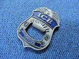 US ICE(米国入国・税関捜査官)チャレンジコイン 栓抜きにも