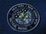 連邦保安官ニューヨーク支局タクティカルメディックパッチ ブラック