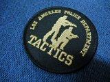 ロサンゼルス市警察タクティクスパッチ