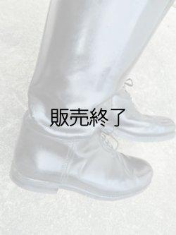 画像4: 白バイ用カスタムレザーパトロールブーツ10.5EE(27-28センチ)