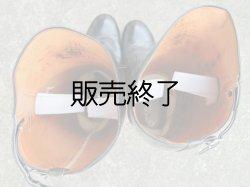 画像2: 白バイ用カスタムレザーパトロールブーツ10.5EE(27-28センチ)