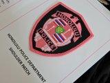 ハワイ ホノルル市警察オフィシャルピンクパッチ