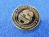 ホノルル市警察チャレンジコイン