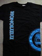ホノルル市警察ハワイ 半袖Tシャツ 日本人XL ネイビー