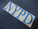 ニューヨーク市警察 カッティング ステッカーNo2