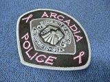 アーケディア市警察ショルダー ピンクパッチ