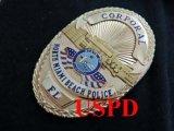 ノースマイアミビーチ市警察実物フラットバッジ コーポラル