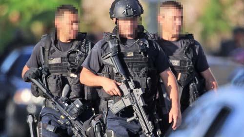 ロサンゼルス市警察SWAT新型ベス...